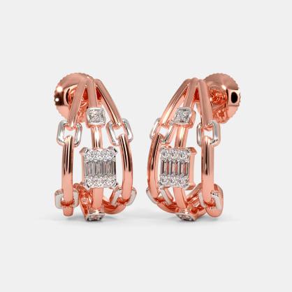 The Stefano J Hoop Earrings