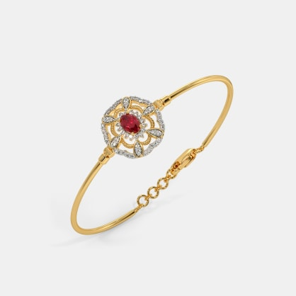 The Laury Oval Bangle
