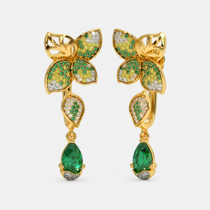 The Arelis Front Back Earrings