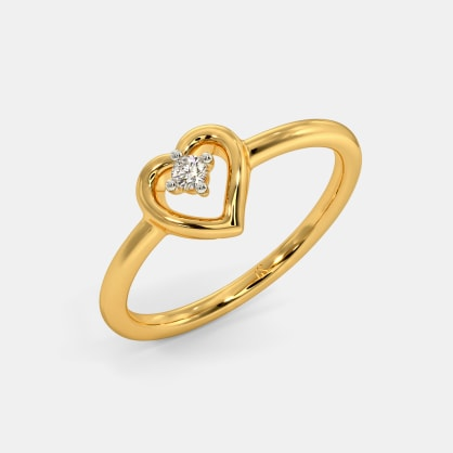 The Enticing Heart Ring