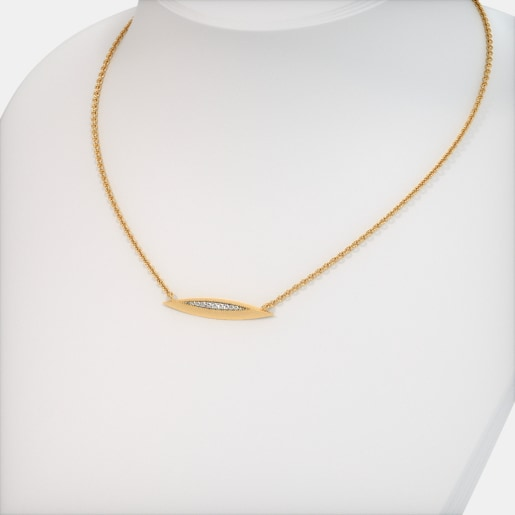 The Eliza Bar Necklace