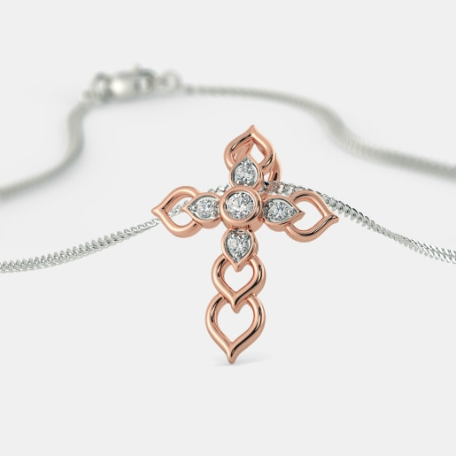The Adalia Cross Pendant