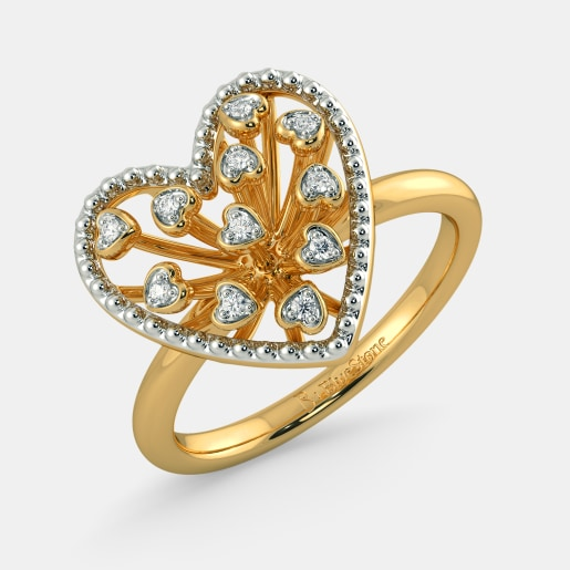 The Haley Heart Ring