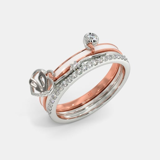 The Swift Dragonfly Stackable Ring