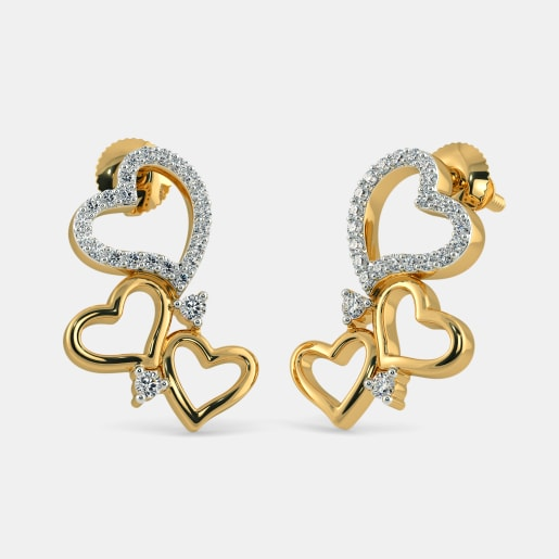 The Trail Of Hearts Earrings