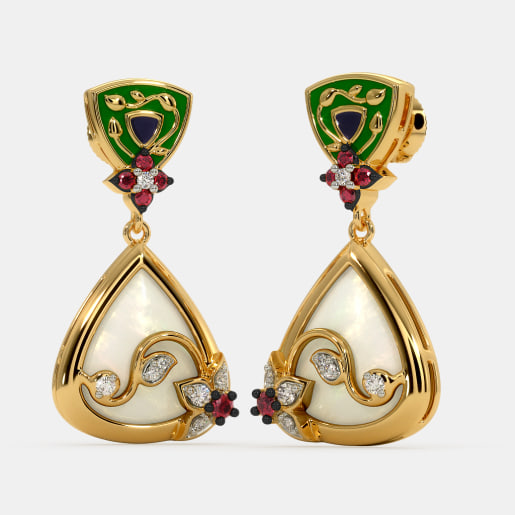The Hadya Drop Earrings