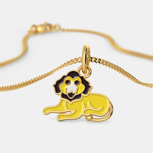 The King of Jungle Pendant For Kids