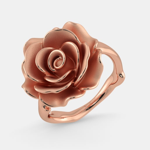 The Blooming Rose Ring