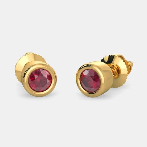 The Drina Stud Earrings for Kids