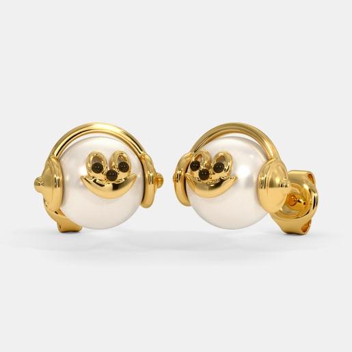 The Music Pearl Kids Stud Earrings