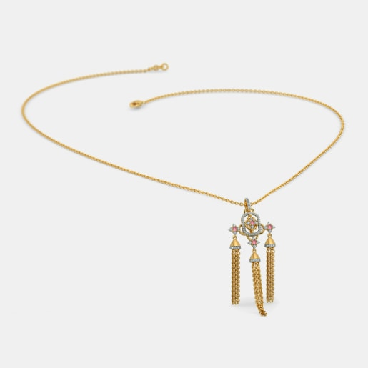 The Triplet Tassel Necklace