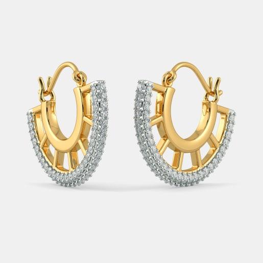 The Astra Hoop Earrings