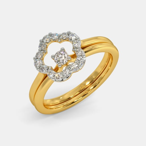 The Plumeria Stackable Ring