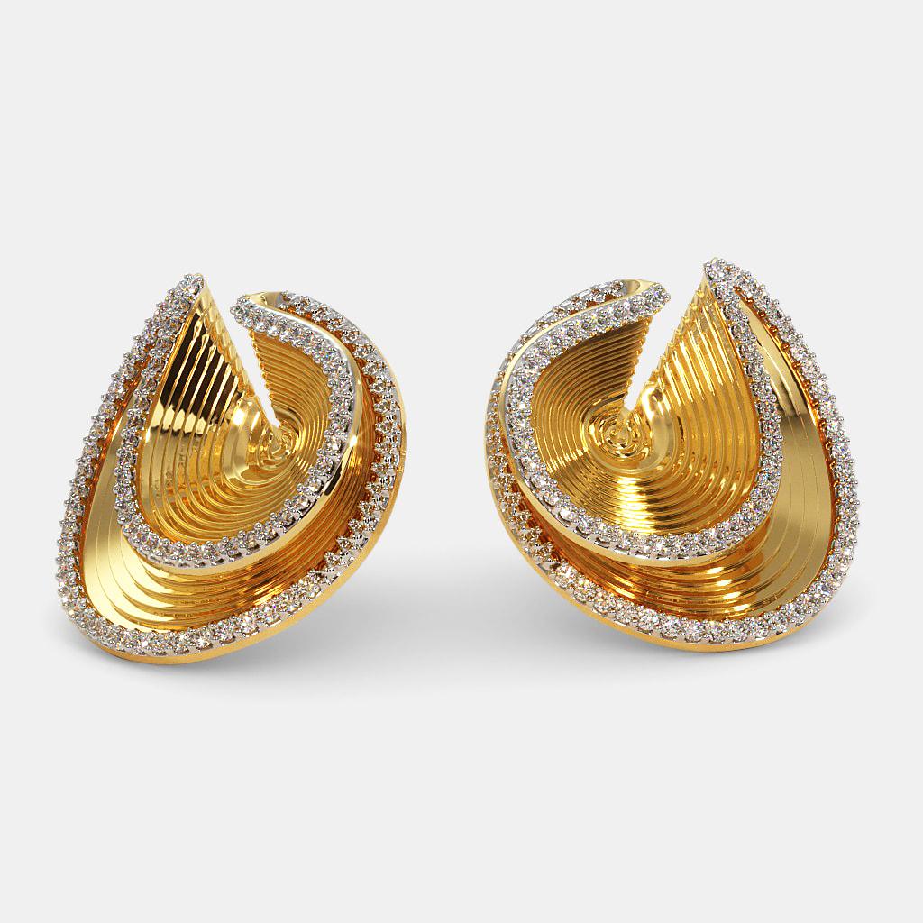 The Capoira Stud Earrings