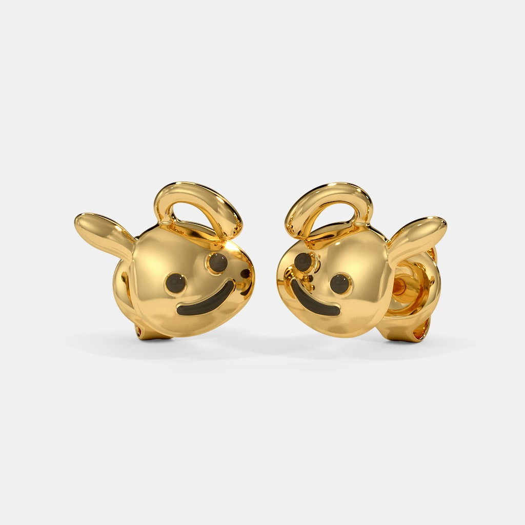 The Cute Bunny Kids Stud Earrings