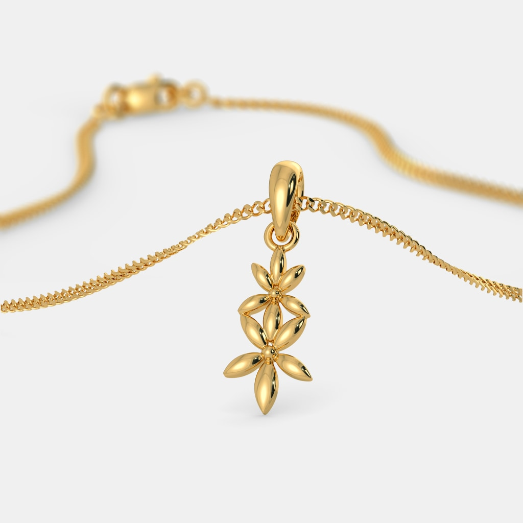 The Conjoined Blossoms Pendant