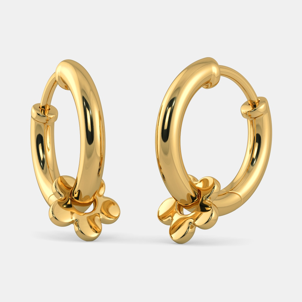 The Infinite Affection Huggie Earrings For Kids