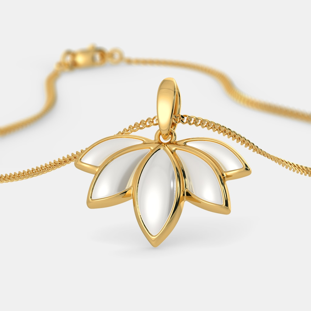 The Lotus Maiden Pendant
