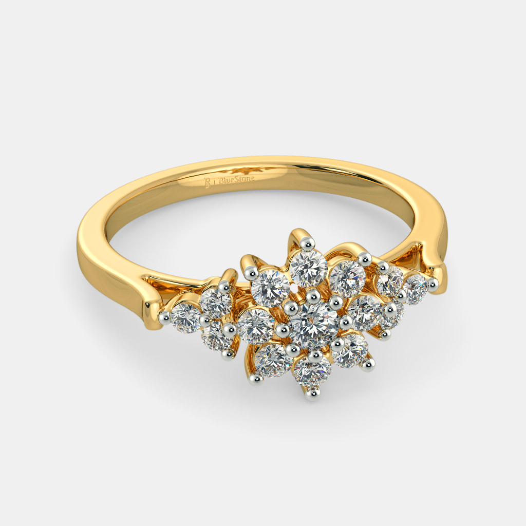 The Florine Cocktail Ring Bluestone Com