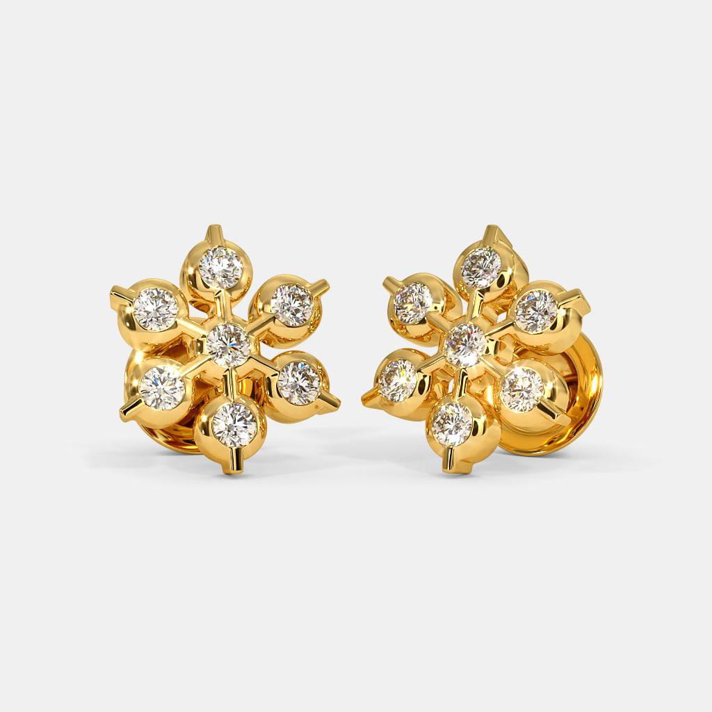 The Gangika Stud Earrings