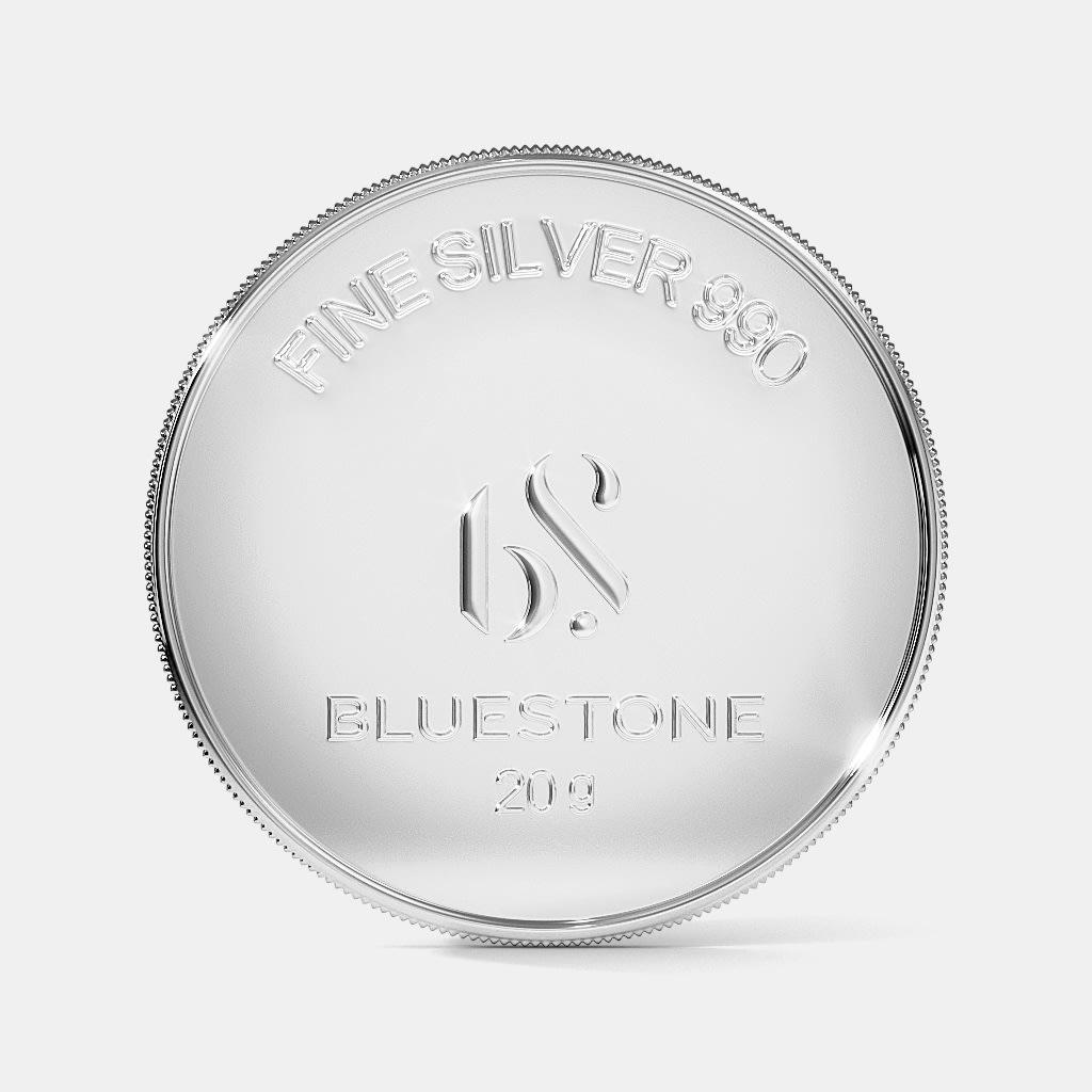 20 Gram Silver Coin Bluestone