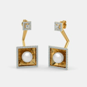 The Flamboyance Front Back Earrings