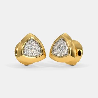 The Barett Pave Stud Earrings