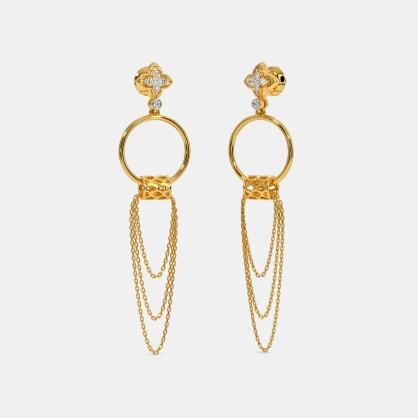 The Riza Drop Earrings