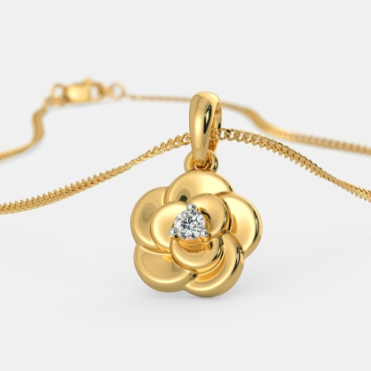 The Delightful Flower Pendant