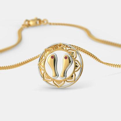 The Paduka Pendant