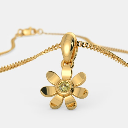The Angelic Flower Pendant For Kids