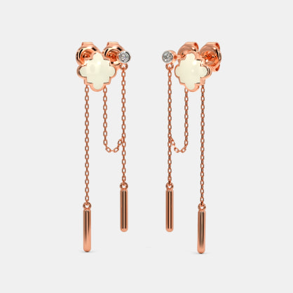 The Nidra Multi Pierced Drop Earrings
