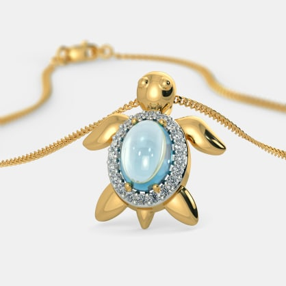 The Tawdry Turtle Pendant For Kids