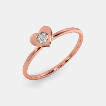 The Micro Heart Ring