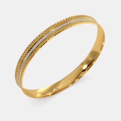 The Chiselled Gilt Bangle