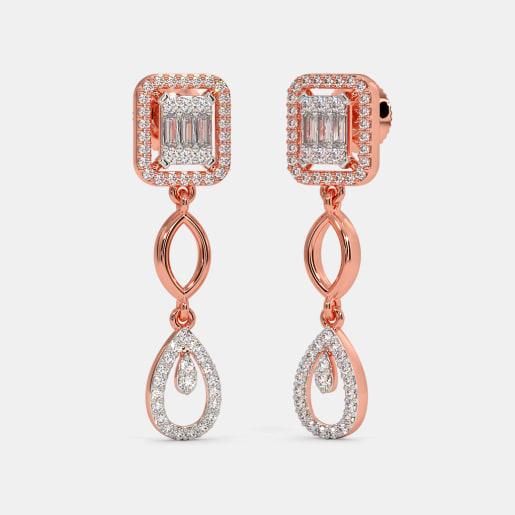 The Albira Bridal Drop Earrings