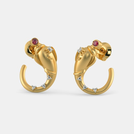 The Ekadanta Stud Earrings