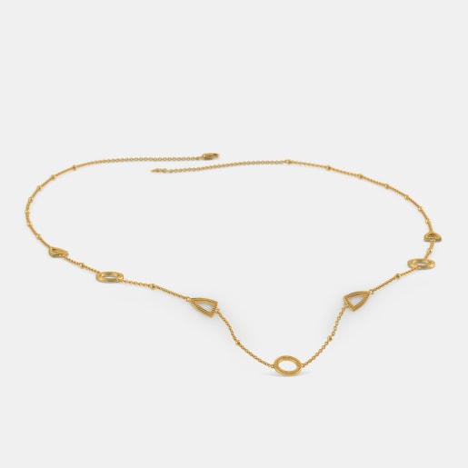 The Trilateral Station Necklace