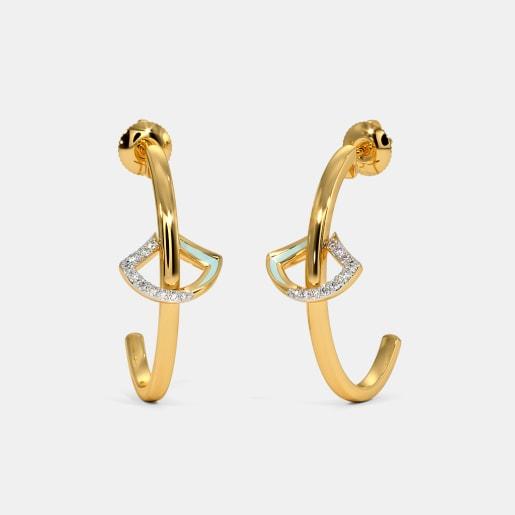 The Madilyn J Hoop Earrings