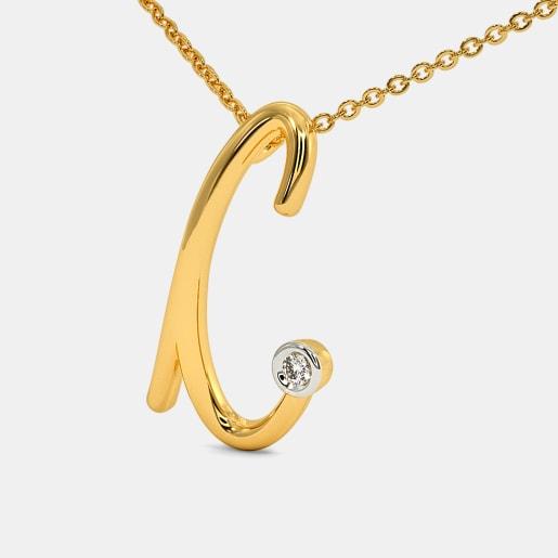 The Cursive C Necklace