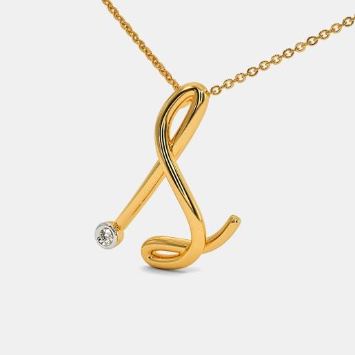The Cursive S Necklace