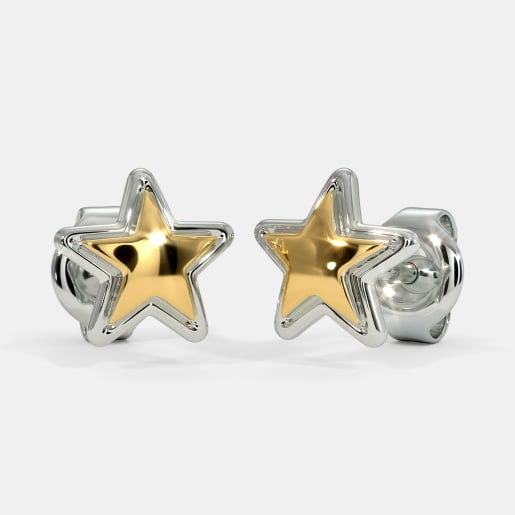 The Shinny Star Kids Stud Earrings