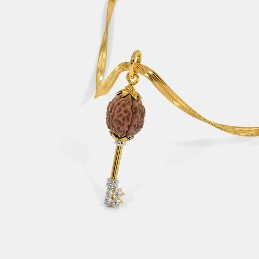 The Rudraksha Key Pendant