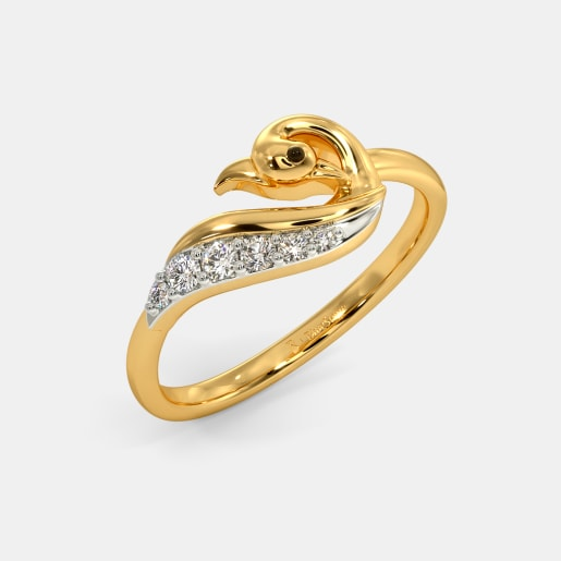 Buy 50 Gold Wedding Ring Designs Online In India 2019 Bluestone Com