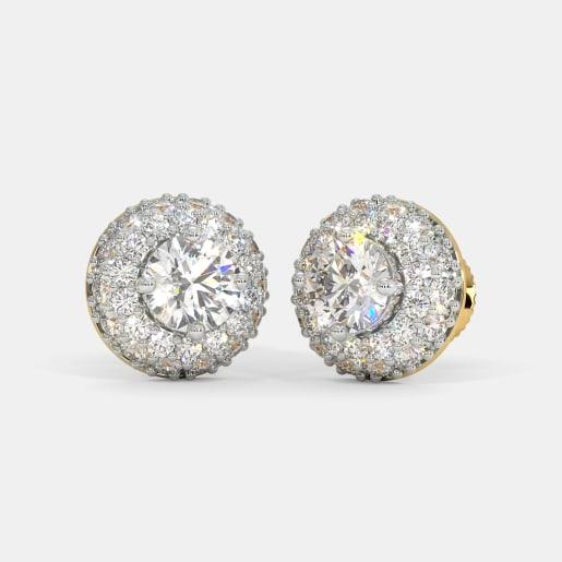 The Circular Grace Stud Earrings