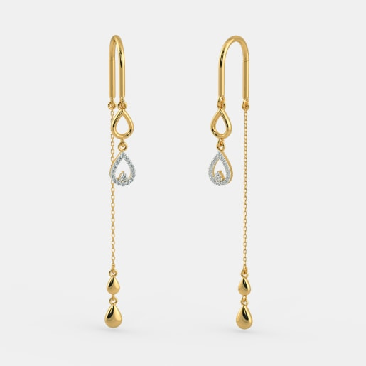 The Radiant Droplet Earrings