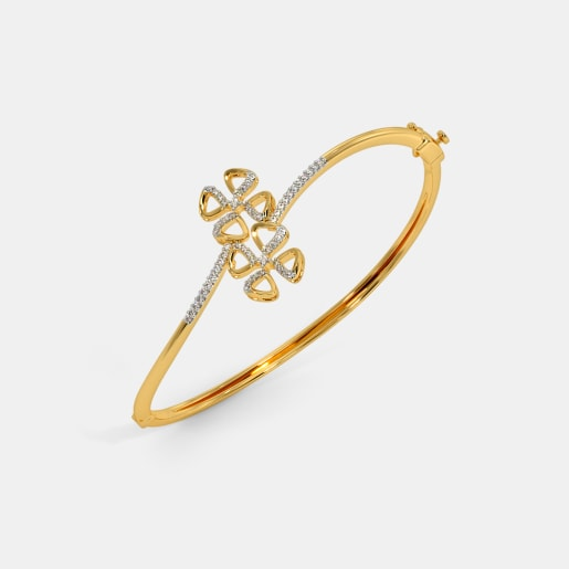 The Romila Oval Bangle