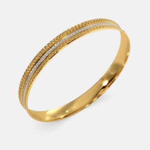 872fcadce Plain Gold Bangles - Buy 50+ Plain Gold Bangle Designs Online in ...