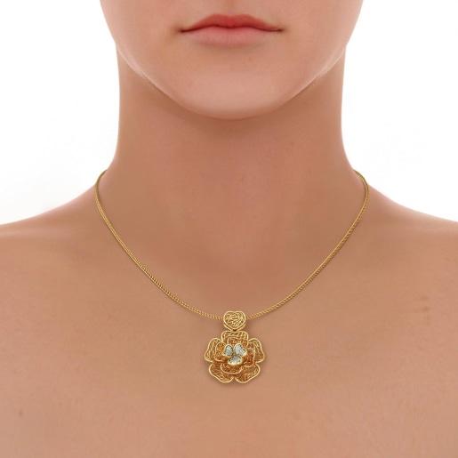 The Cher Lattice Pendant