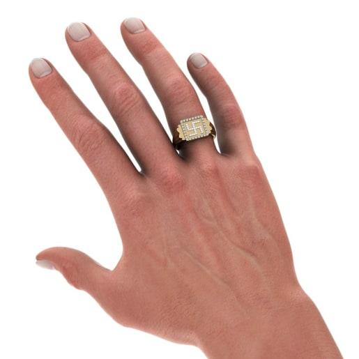The Apurv Swastika Ring